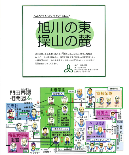 Sanyo History Map