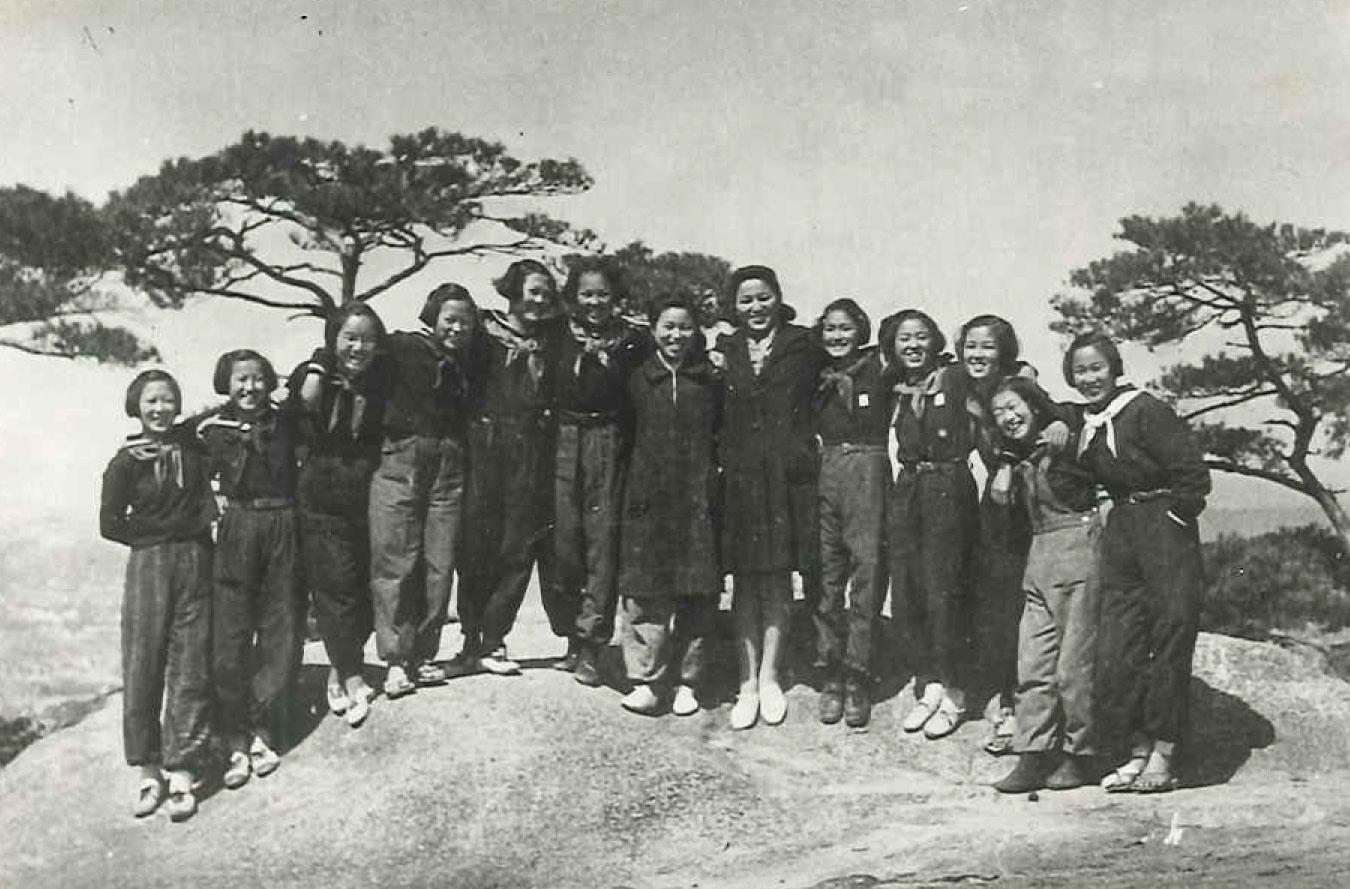 1946年操山山頂